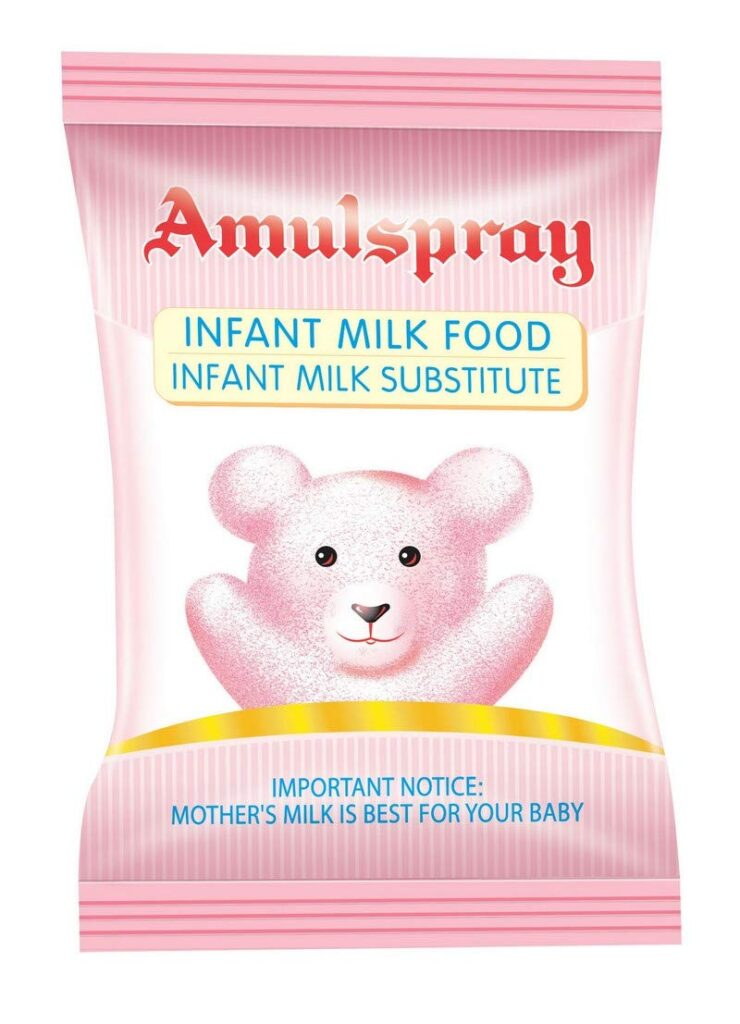 is amul spray good for babies