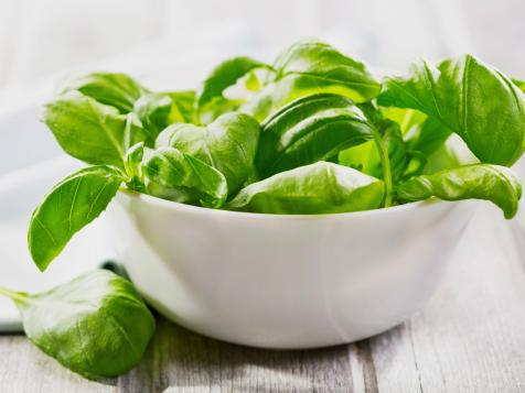 """Basil also known as """"the king of herbs"""""""