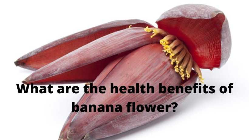 What are the health benefits of banana flower?