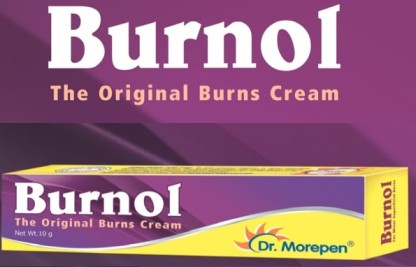 Burnol - The cure for burn