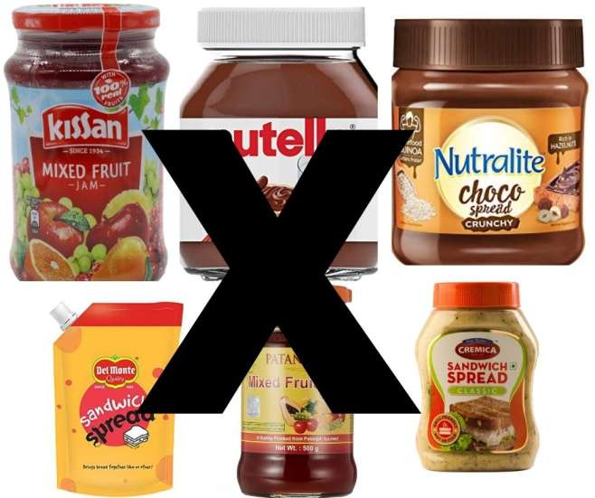 You are wrong about the best jams and spreads available in Indian markets