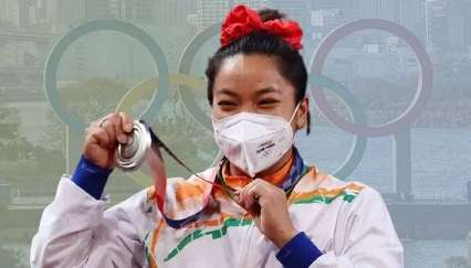 The secret to Mirabai Chanu's Olympic success and fitness